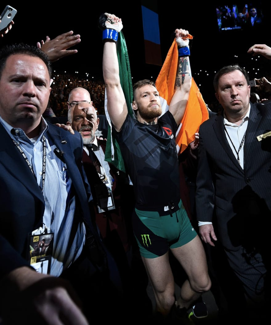 conor mcgregor walkout the foggy dew