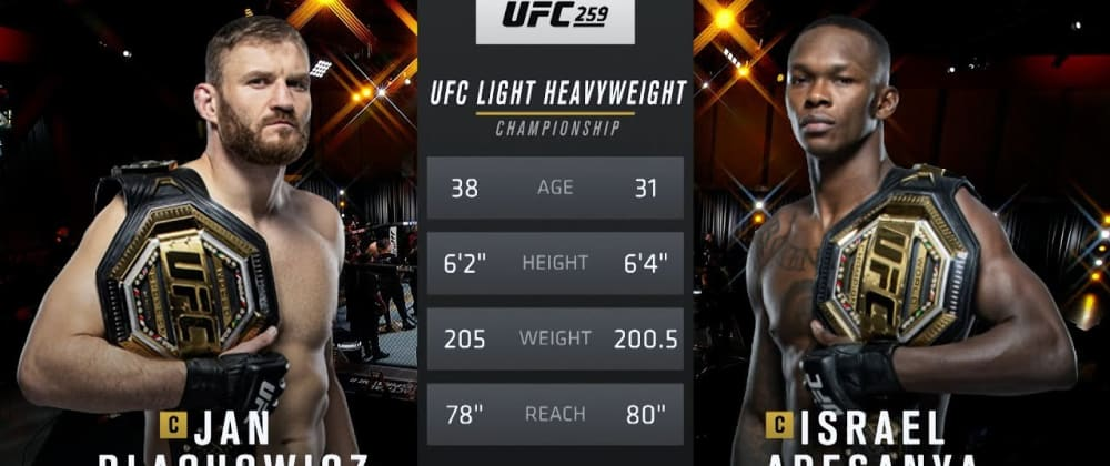 Cover image for UFC 267 Free Fight:  Blachowicz vs Adesanya