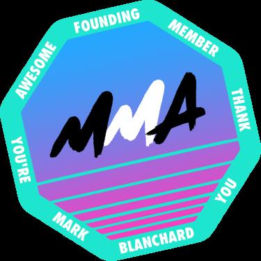 Founding Member Badge for Mark Blanchard badge