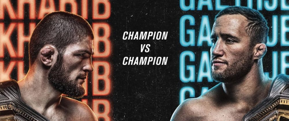 Cover image for Official UFC 254 Poster