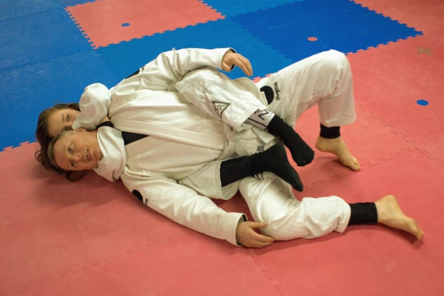 young girl bjj