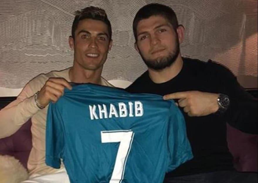 ronaldo and khabib