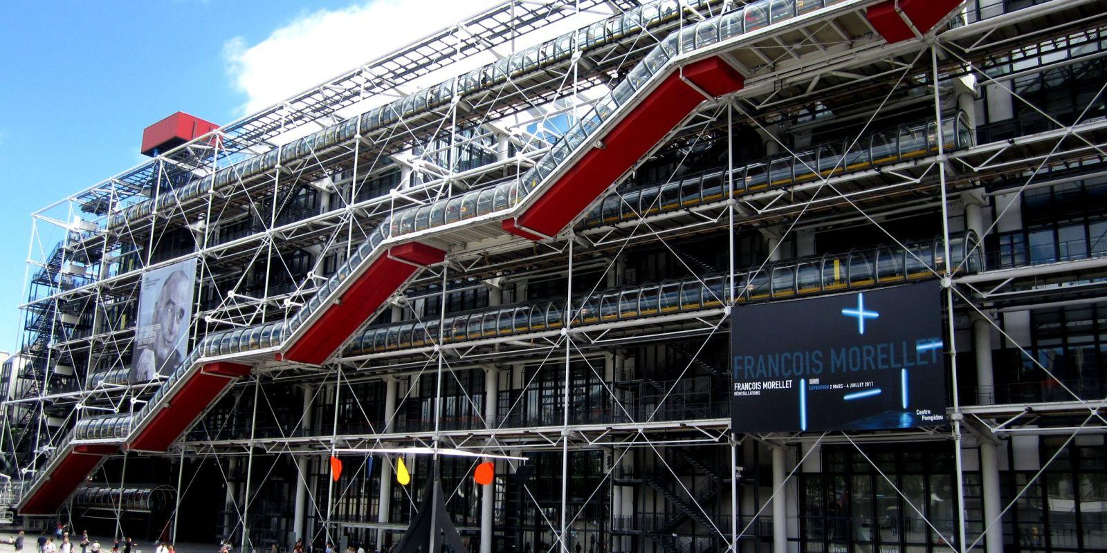 Avant et après le Centre Pompidou