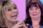 Ruth Langsford clashes with Coleen...