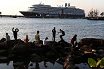 Westerdam's last tourists arrived in...
