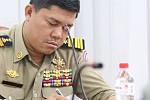 Sen Sok district police inspectors...