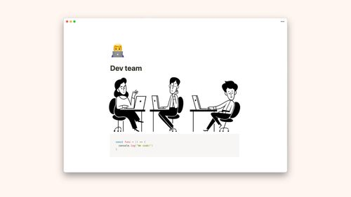 Gestionar proyectos de desarrollo de software con Notion
