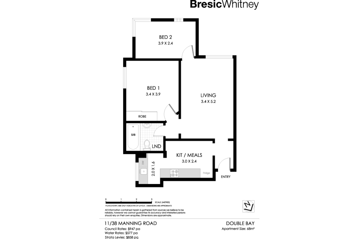 c2335ba3639 11/38 Manning Road, DOUBLE BAY 2028 - Apartment for sale