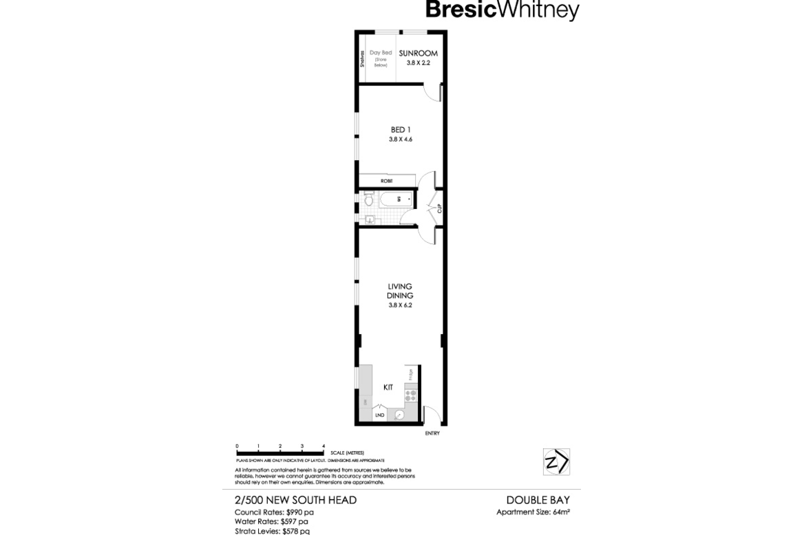 7eb3529ec01 2/500 New South Head Road, DOUBLE BAY 2028 - Apartment for sale