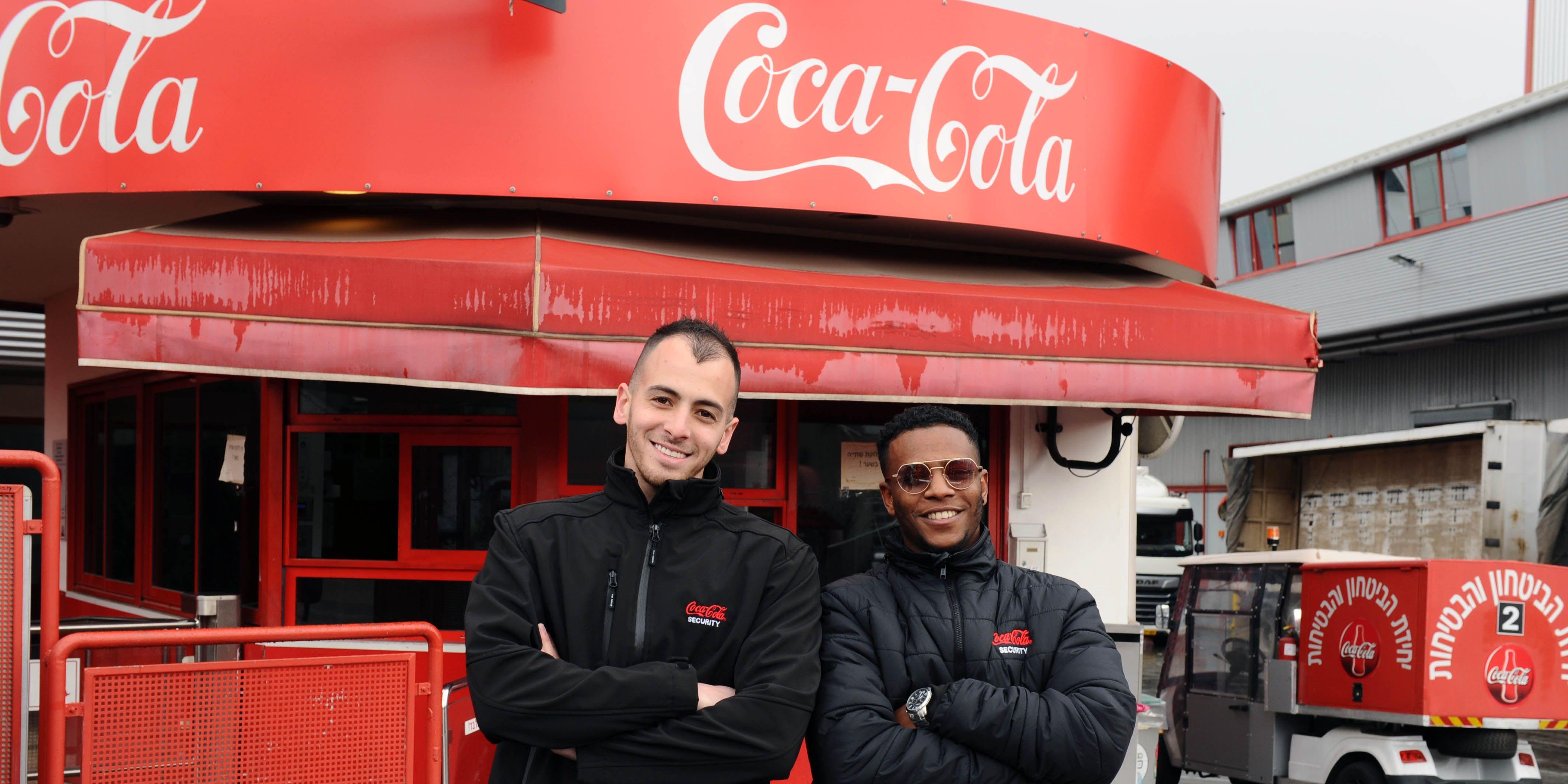 מאבטח/ת בחברה המרכזית למשקאות (קוקה-קולה)