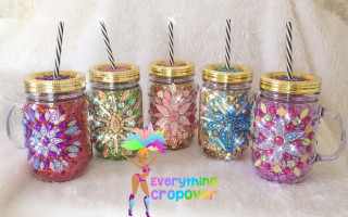 Bling cups