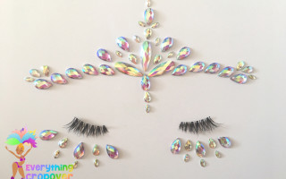 Face gems and body bling