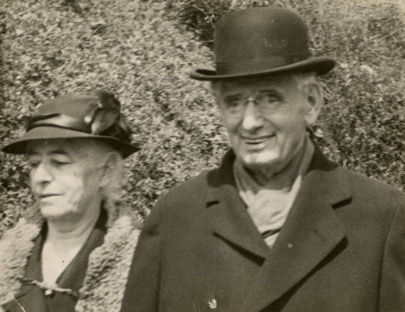 Historical photo of Louis and Alice Brandeis, ca. 1936.