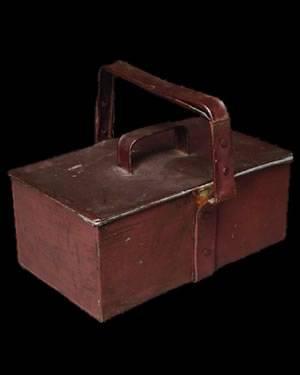 Tin ammunition box