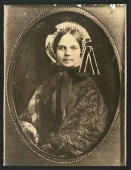 Fanny Bowditch Dixwell, shown here, ca. 1870, a few years before she and Holmes married