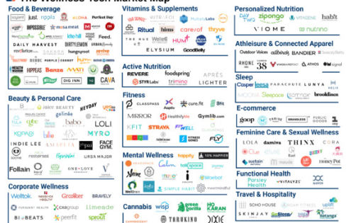 150+ Startups Cultivating The Wellness Industry