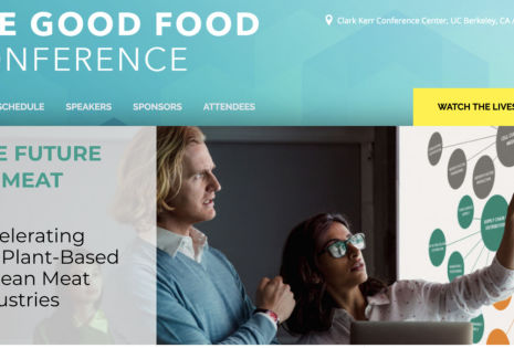 Conference Tackles What's Next After Plant-Based: Clean Meat Grown From Animal Cells