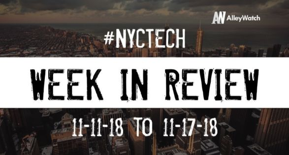 #NYCtech Week in Review: 11/11/18-11/17/18