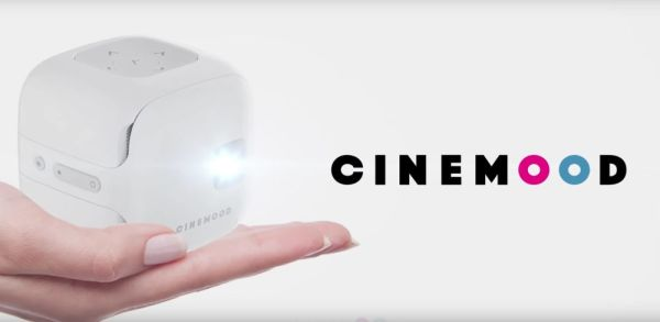 Spark joy with the kid-focused Cinemood portable projector