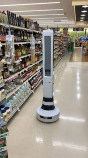 New robot strolling through aisles of 2 Northeast Ohio grocery stores