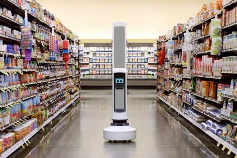 The Robot That Will Help Giant Eagle Spot Empty Grocery Shelves