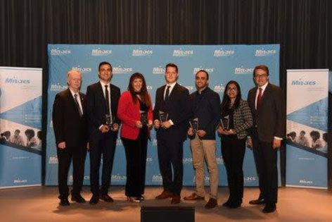 Entrepreneurs awarded for innovations in food, health, environment, aviation, and AI
