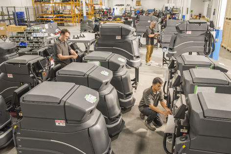 DHL installs floor-cleaning robots from Avidbots in its warehouses