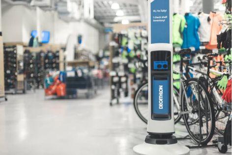 Decathlon introduces robots to the bike shop floor