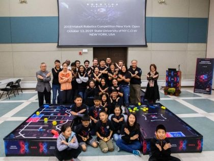 MAKEX International Robot Competition New York Open ended success