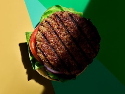 Can a burger help solve climate change?