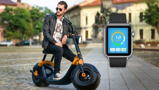 Now, Scooterson's AIR smart scooter can be moved from one place to another remotely