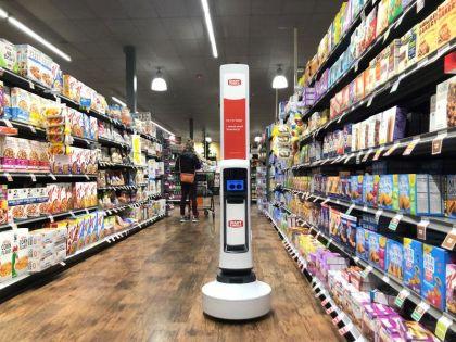 Meet Tally, Giant Eagle's Shelf-Scanning Robot
