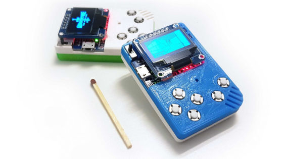 3D Printing For Wire Paths Yields An Arduboy Minus The PCB