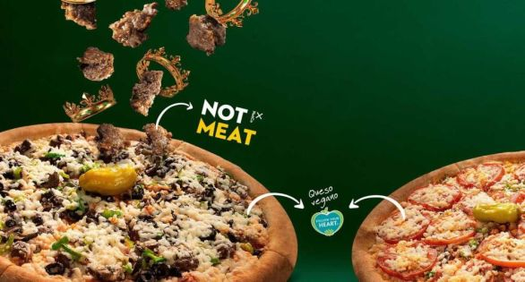 NotCo and Papa John's partner to offer vegan pizzas