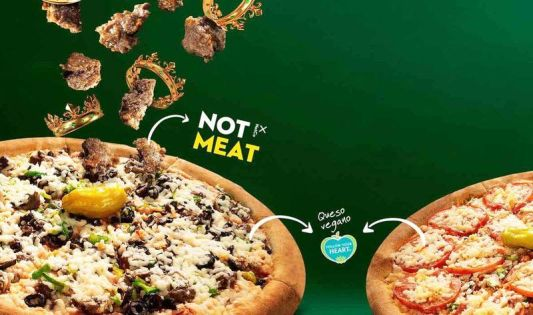 Papa John's to Add Vegan Pizza to 100 Locations in Chile