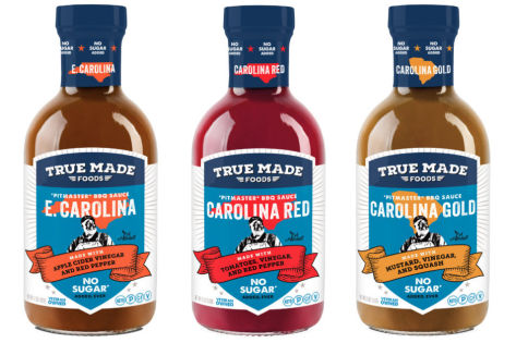 True Made Foods debuts barbecue sauces sweetened with vegetables