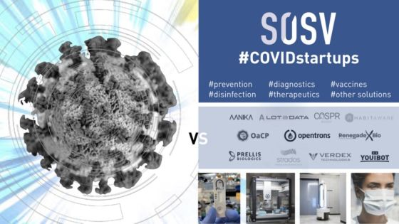 SOSV startups on the front line against the Coronavirus