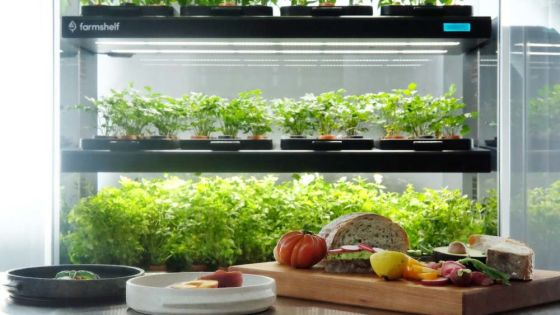 Farmshelf CEO Wants to Bring Smart Farms Into Homes
