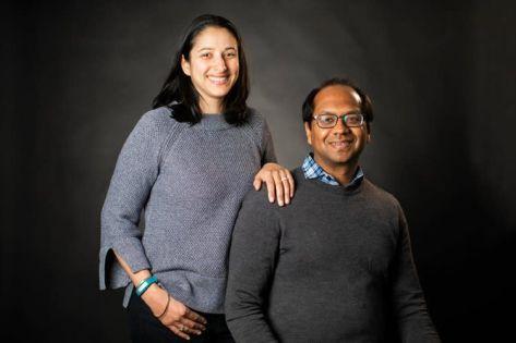 Aneela and Sameer Kumar - HabitAware Co-Founders