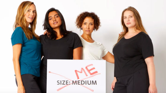 Why is fashion's size scale discriminatory?