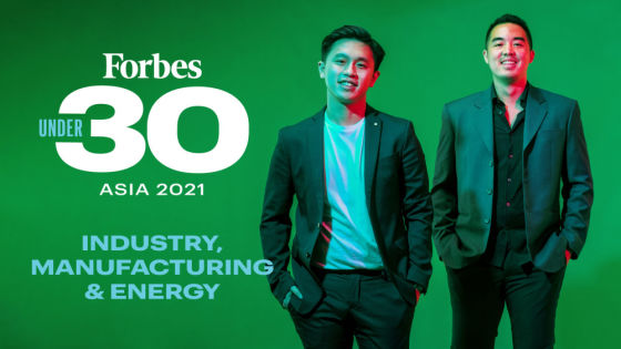 Forbes 30 Under 30 Asia 2021: Industry, Manufacturing & Energy