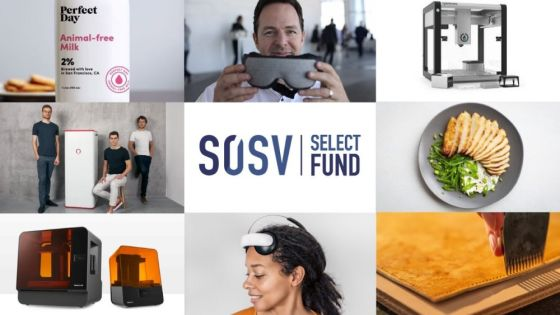 SOSV announces the close of its $100M Select Fund, the venture investor's first growth stage fund