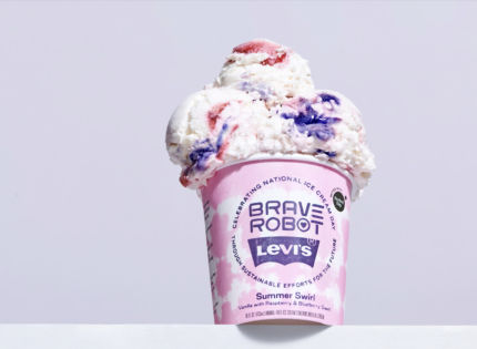 Levi's and Brave Robot to Launch Limited-Edition Ice Cream