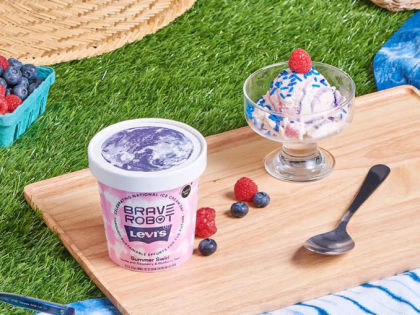 Levi's And Brave Robot Debut Limited-Edition Summer Swirl Ice Cream Flavor
