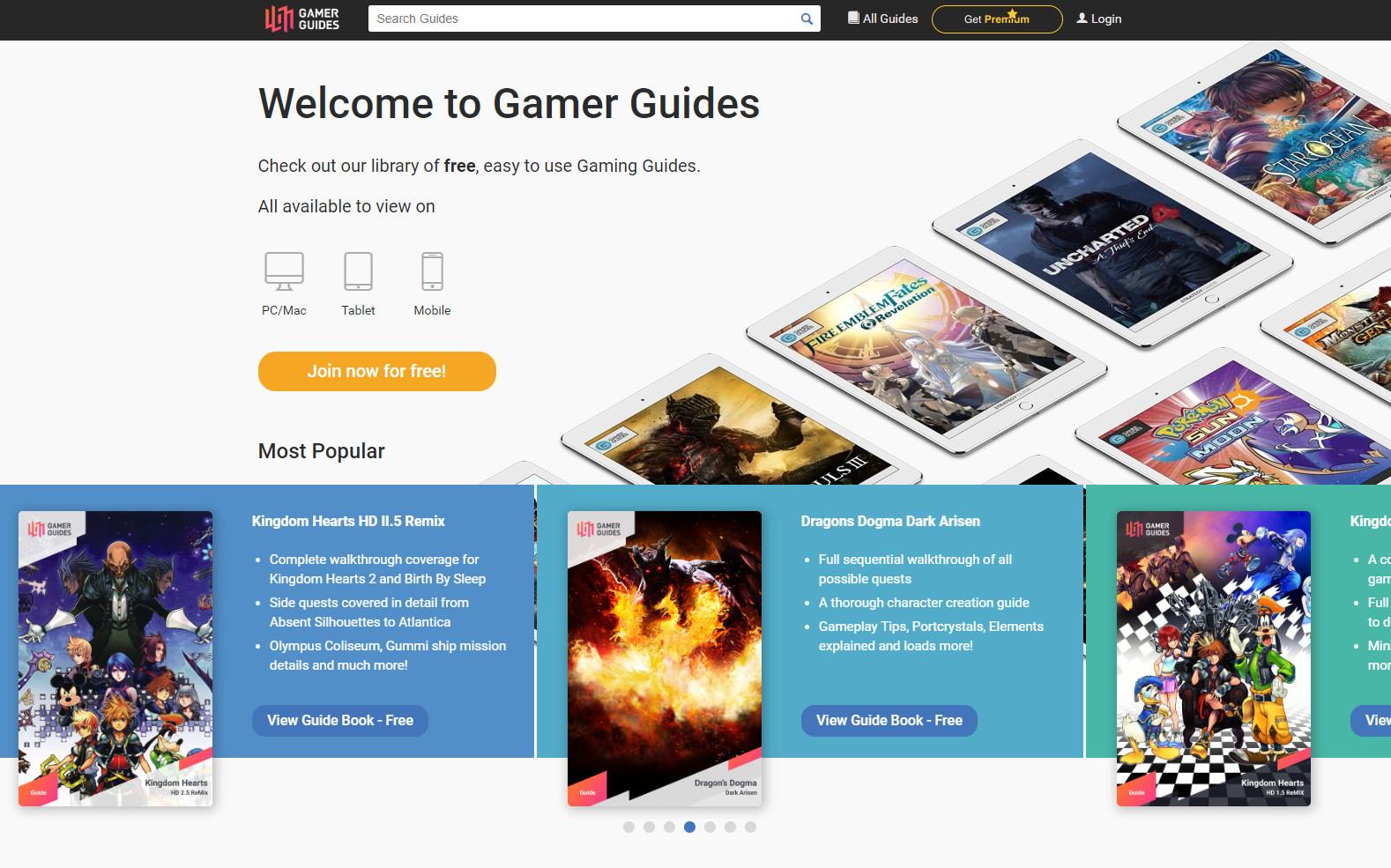 Gamer Guides