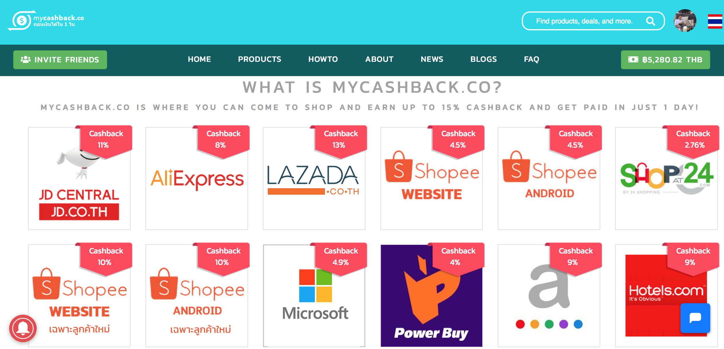 Mycashback.co