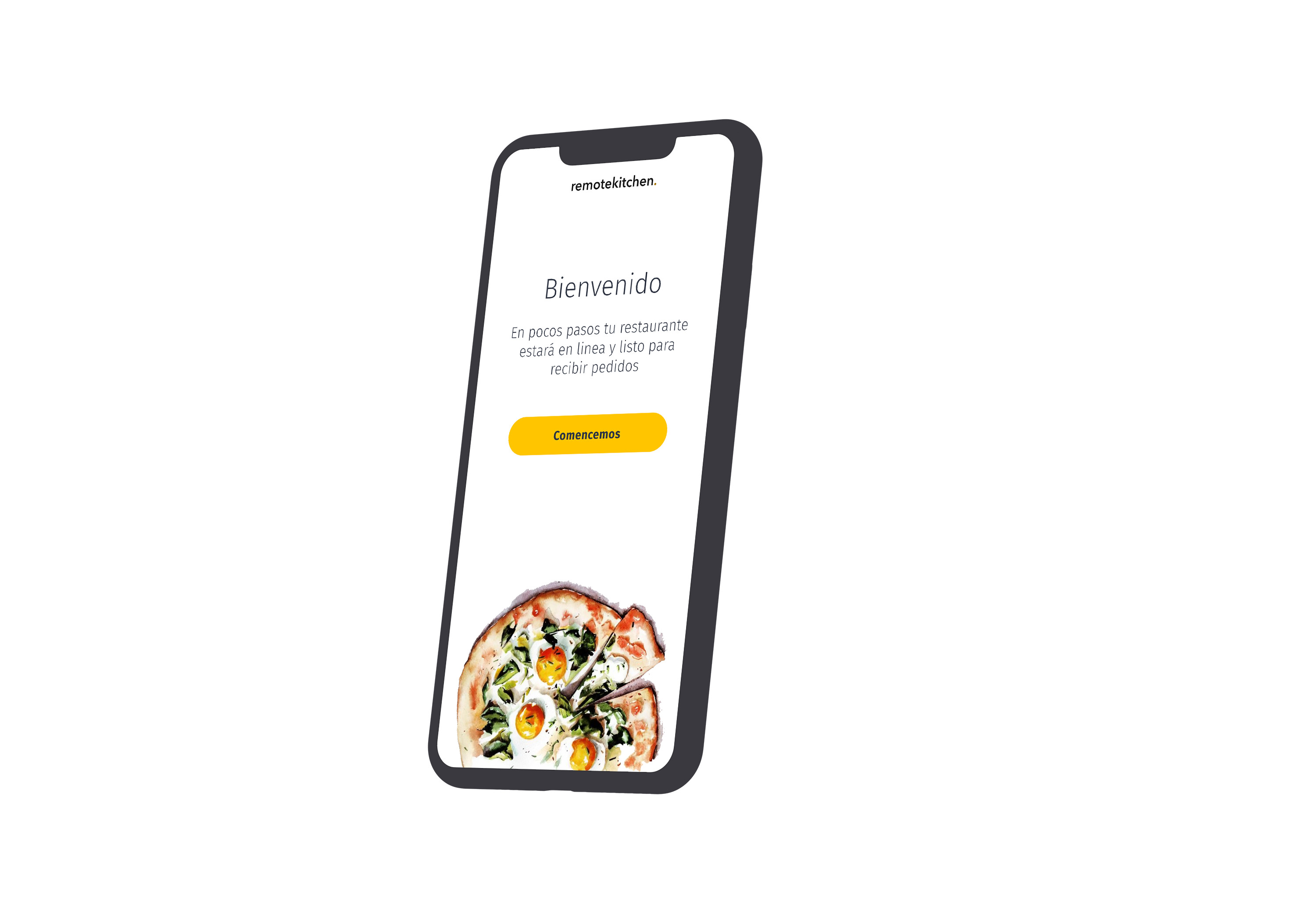 Remote Kitchen - Mobile onboarding