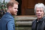 Harry & Meghan back in U.K.; he...