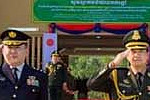 Cambodia welcomes the first official...