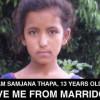 image_thumb_SAUVONS SAMJANA DU MARIAGE, enfant népalaise de 13 ANS